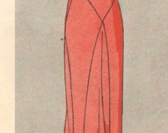 1931 Vintage VOGUE Sewing Pattern B34 DRESS (1035) Vogue 2241