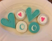 Origami Owl Cookies | Decorated Cookies