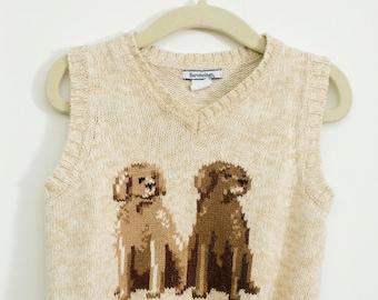 Dog design vest 12 months- 18 months