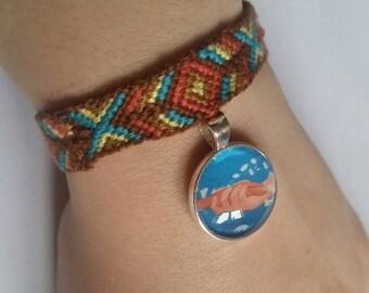Pocahontas inspired Friendship Bracelet