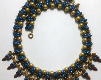 Bib Collar Statement Necklace