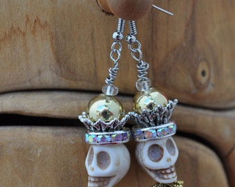 Day of the Dead Earring style #23