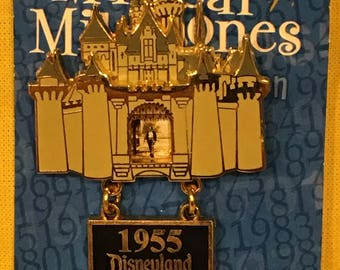 Disney Magical Milestones 1955 Opening Day Pin