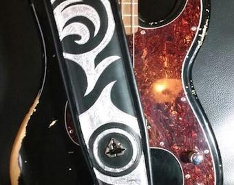 Handmade bass strap