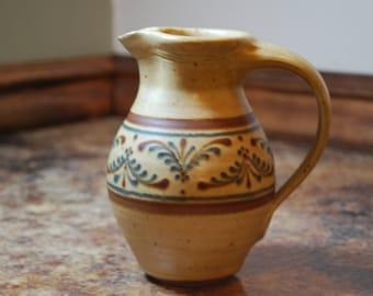 Vintage Nafzinger Pottery Pitcher G1-007