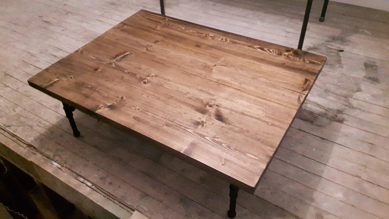 Steel Pipe Coffee Table Rustic Coffee Table Steel Pipe