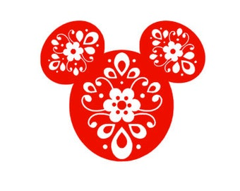 BOHEMIAN MICKEY; Quality Vinyl Decal, Disney Decal, Disney Yeti Decal, Disney Car Decal, Gifts for Disney addicts, Fast Processing!!