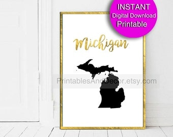 Map Silhouette Etsy - Us map white silhouette