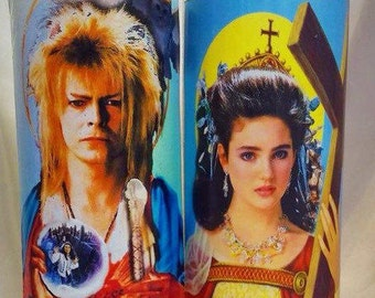 Labyrinth Saint Jareth and Saint Sarah Prayer Candle Set