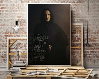 Harry Potter Severus Snape Quotes