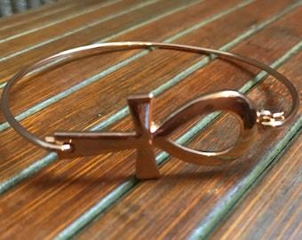 Handmade Ankh Bracelet