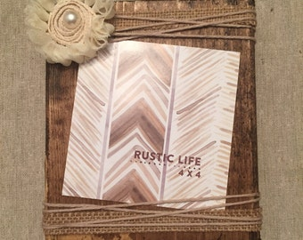 solid wood block picture frame; recycled wood; picture frame; wood work