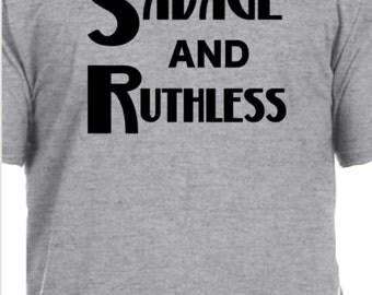 Savage and Ruthless, Migos, Tops & Tees, Mens shirts, Mens T-shirts, Migos shirts, Bad Boujee, Savage Ruthless