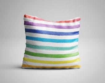 Colour Stripes Cushion.