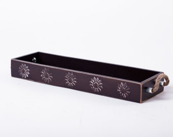 Wooden|tray Farmhouse|decor Tray|with|handles Table|tray Decor|tray Housewarming|present Home|sweet|home Gifts|for|her Gifts|for|women
