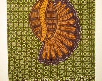African Fabric,/ Ankara Fabric,/ 100% Cotton,/Holland Ankara,/ 6 yards