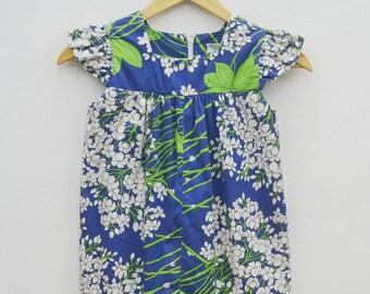 REAL Vintage 50's Hookano Brand Hawaiian Girl Dress Size 6