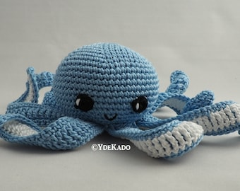 Octopus amigurumi Ydekado handmade gift idea