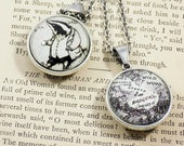 Double-Sided Pendant - Wind in the Willows - Badger / Badger's House