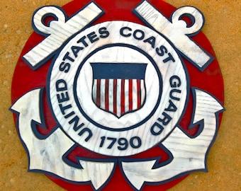3D Coast Guard Sign