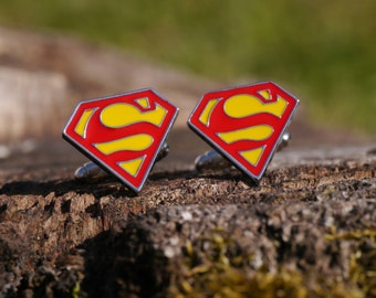 Superman Men's Cufflinks