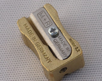 NEW!  M+R MINOFIX Brass Lead Pointer with 2 Spare Blades
