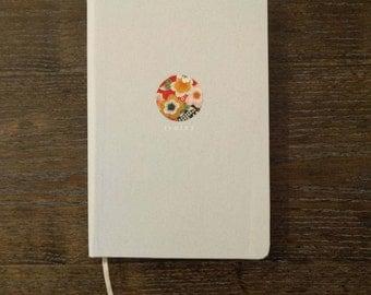 Washi medallion - Hardcover notebook