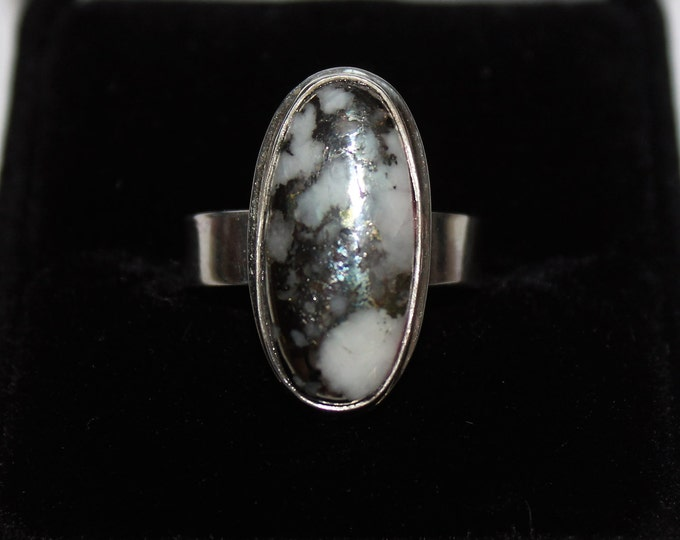 Mohawkite Ring: MR-1 Size 7.25