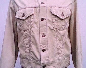 Levi Slim Fit Cord Jacket 1960s.