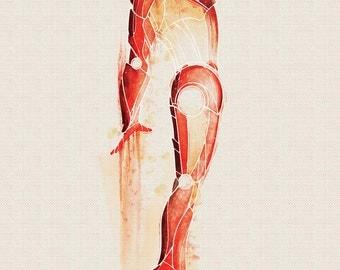 Marvel Iron Man Art Print