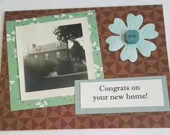 Congrats on your new home!, Card