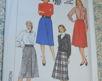 Simplicity 9353  Misses Set of  Skirts Sewing Pattern - UNCUT - Size 12