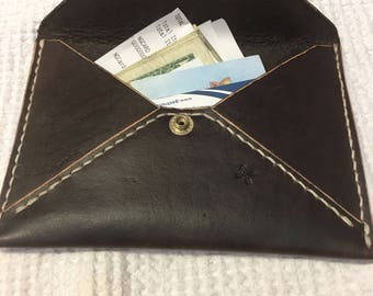 Handmade Leather Envelope