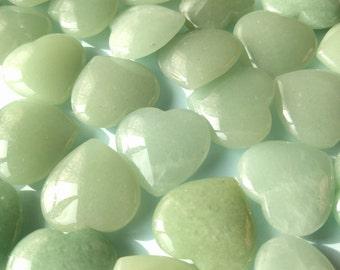 Green Aventurine Heart Crystal Heart Gemstone