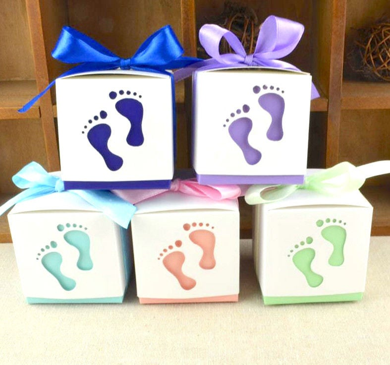 50 Baby Feet Favors/DIY Baby Shower Favors/Baby Feet