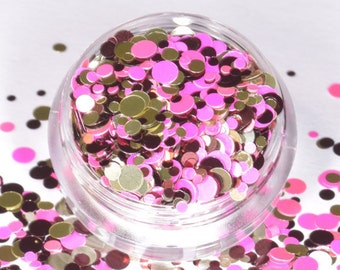 100 g/93,33 euro - mix bag glitter sequins points dot glitter holographic new craft