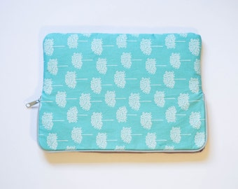 Forest - Cotton Print - MacBook Pro Sleeve - Laptop Sleeve - Laptop Case - Laptop Bag