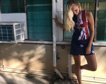 Australia Flag Dress