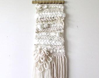 MERINGUE - Woven Wall Hanging / Weaving / Wall Art / Woven Wall Art / Fiber Art