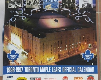 96-97 Official Toronto Maple Leafs Calendar