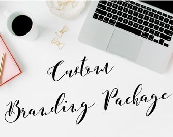 Custom Business Design Branding Guide and Logo