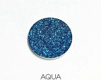 Pressed Glitter Eyeshadow - 'Aqua'