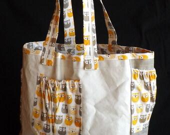 sail-cloth bag / tote bag