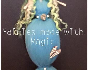 Needle Felt Mermaid. Waldorf Inspired