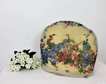 Vintage Floral Tea Cosy/ Home & Living/ Kitchen and Dining/ Teapot Cosy/ Kitchen Decor/ 1960s (0024E)