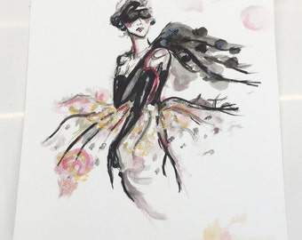 Original Watercolour Illustration