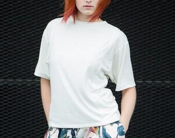Shirt 'Alma' modal T-Shirt offwhite white bags