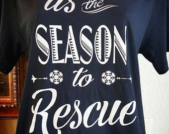 Large 'tis the season T-shirt