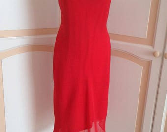 Beautiful Red Dorothy Perkins  Evening Dress size 12