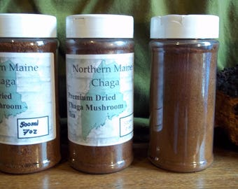 Finely Ground Chaga - 7 Ounces - Free Shipping!